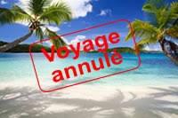 voyage annule
